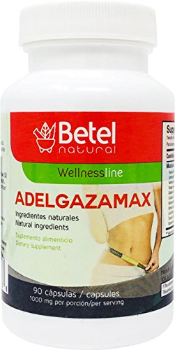 Adelgazamax Capsules by Betel Natural - Weight Loss Supplement with Apple Cider Vinegar & Garcinia Cambogia - 90 Count by Betel Natural