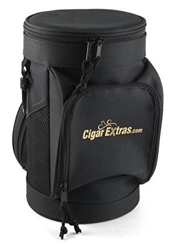 CigarExtras Le Tube Travel 20 Cigar Case Shoulder Bag ()