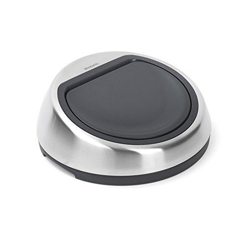 30L Matt Steel Steel 29.5 x 29.4 x 8.1 cm Brabantia Lid Touch Bin New