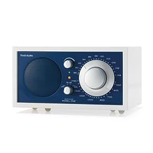 Tivoli Model One Radio White Line Edición blanco / azul / mate