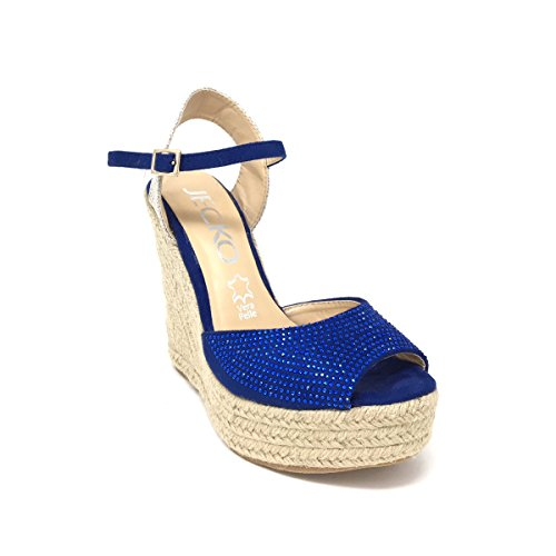 7303a203 Sandalias Mujer Verano Zapatos Espadrille Alpargata Cuña Tacon Alto  Casuales Plataforma Tacones Altos Sandalias Bueno wreapped