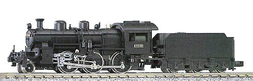 JNR Steam Locomotive 2-6-0 Type C50 (N Scale) - Kato 2001