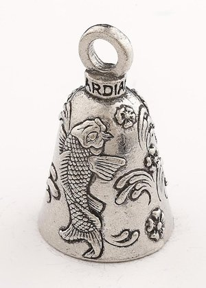 Guardian/® Bell KOI Fish with Custom Gift Box Harley Biker Bell Ride to Live