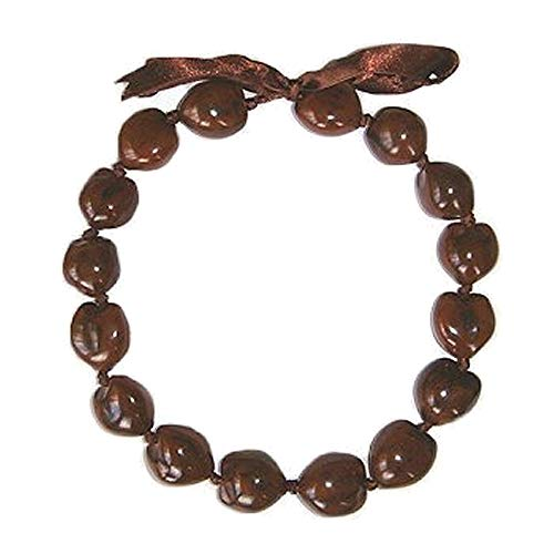Hawaiian Kukui Nut Brown Shell 16