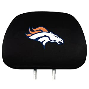 NFL Head Rest Covers, 2-Pack