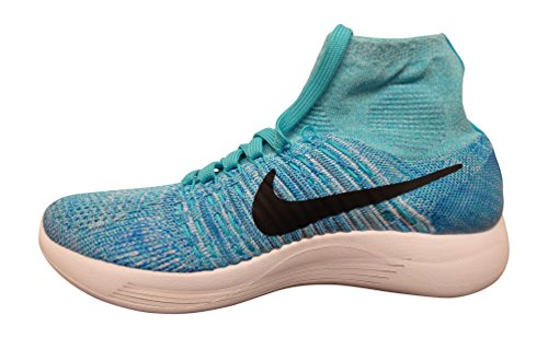 Women's Shoes Running NIKE Flyknit Lunarepic Blue gvUAAaq4