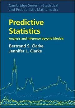Descargar Utorrent Android Predictive Statistics: Analysis And Inference Beyond Models Epub O Mobi
