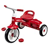Xing Hua Shop Stroller Toys Children's Tricycle Bicycle 2-5 Years Old Walker Bicycle Home Children's Trolley Adjustable Seat with Compartment (Color : Red, Size : 654855cm)