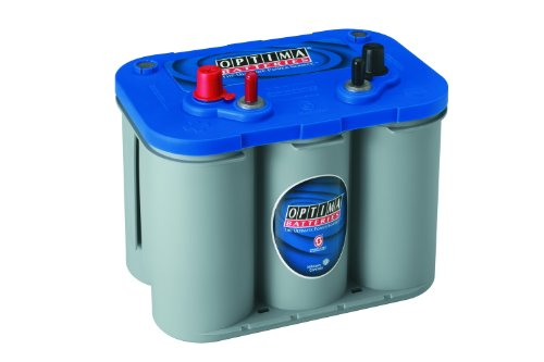 Optima Batteries 8016-103 D34M BlueTop Starting and Deep Cycle Marine Battery (6 Cell Battery Main)