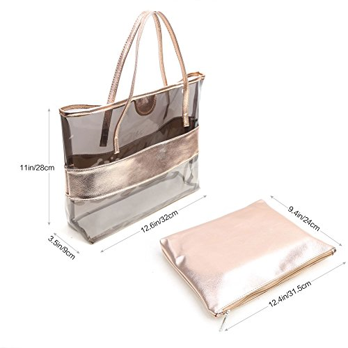 Bag champagne Women's Top Zicac Handle xtXIpWPq
