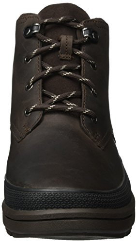 ClarksRushwaymid GTX - Stivaletti Uomo Marrone (Dark Brown Leather)