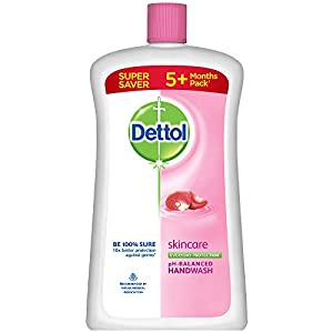 Dettol Skincare Germ Protection Handwash Liquid Soap Jar, 900ml