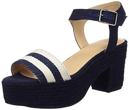 Plateforme Bleu Sandales Dark Blue Yam Dark Blue Femme Castañer Ss18028 w1Rwv