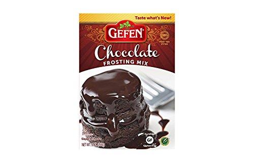 Gefen Gluten Free Frosting Mix, Chocolate, 9 Ounce ()