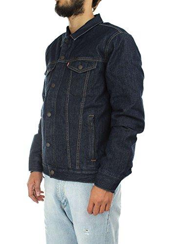 Down Trucker Azul Azul Styled Fill Levi's Jacket Hombre pqRZx5wnHg