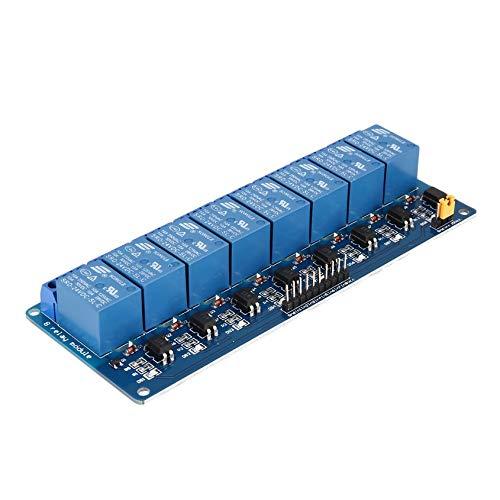 Florencinid 24V 8 Camino Tarjeta de interfase Módulo de relé de bajo Nivel de activación optocoupler Arduino