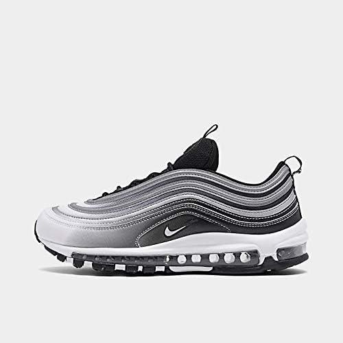 black silver air max 97