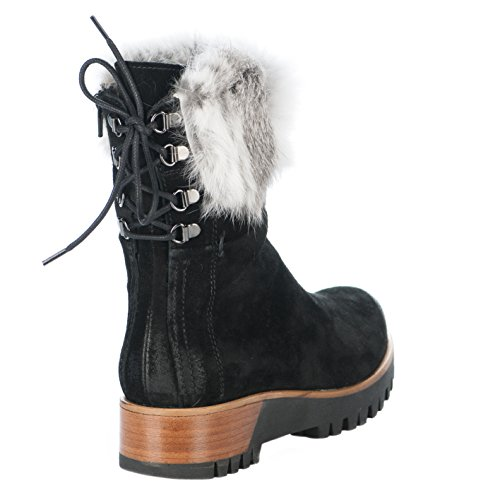 Manas Femme Boots Femme Noir Manas Boots 474I8pqr