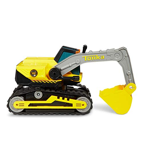 (Tonka 8047 Power Movers Excavator Toy Vehicle, Yellow)