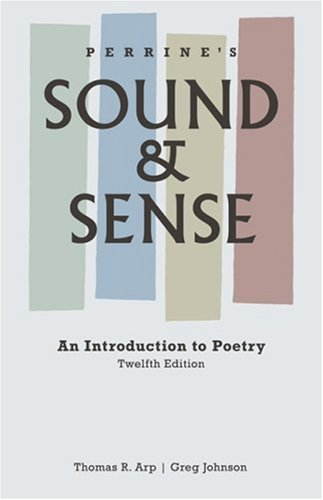 Book cover from Perrines Sound and Sense: An Introduction to Poetry (Perrines Sound & Sense: An Introduction to Poetry)by W. Brad Johnson