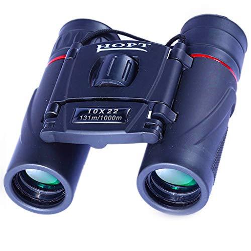 (Binoculars 10X22 Binoculars HD Low Light Night Vision Outdoor Mini Bird Mirror Portable Pocket Mirror Durable Binoculars)