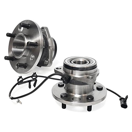 Pair New Front Left & Right Wheel Hub Bearing Assembly For Chevy Astro Van AWD - BuyAutoParts 92-900882H (Chevy Astro Awd)