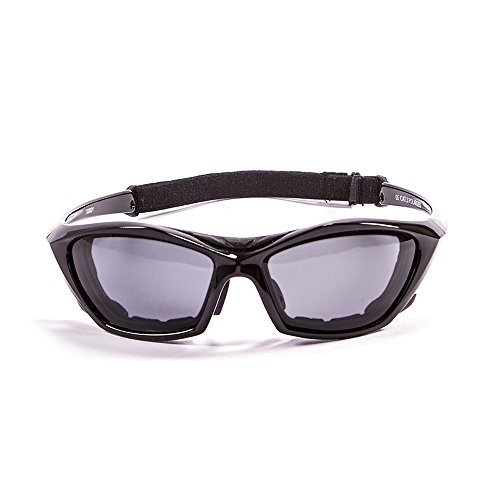 Monture Lunettes de Soleil Sunglasses 1 Verres Noir Ocean Garda Lake 13000 polarisées Laqué Fumée qwt0fgp