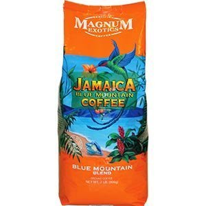 Magnum Ensemble Bean Coffee, Jamaican Blue Mountain Blend, 2 Pound (Pack of 2)