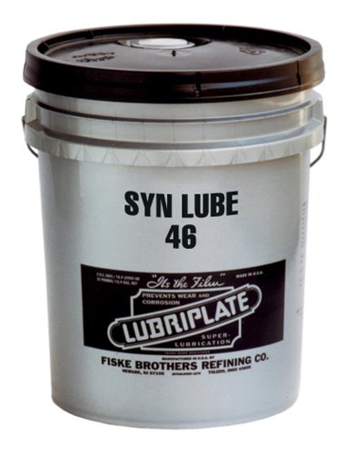 Lubriplate Syn Lube 46 L0971-060 Synthetic Air Compressor Fluid, Contains 5 Gallon Pail by Lubriplate