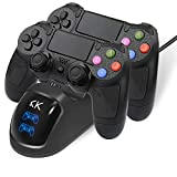PS4 Controller Wireless Dual Vibration GamePad for PlayStation 4 Pro Gaming Remote Control Support PS3 PS2 PC without Headphone Jack