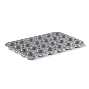 Calphalon Nonstick Bakeware, Mini Cupcake/Muffin Pan, 24-cup