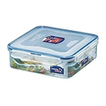 Lock&Lock 54-Fluid Ounce Square Food Container, Short, 6.6-Cup