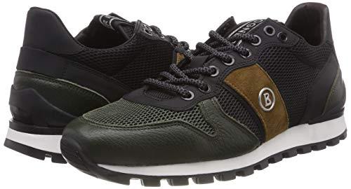 Sneaker Bogner 72 black Porto sand Uomo olive Multicolore 1b rrEa6