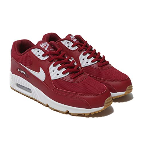 NIKE Women's Air Max 90 Trainers (Red Crush/White, 7 M US) (The Best Nike Air Max 90)