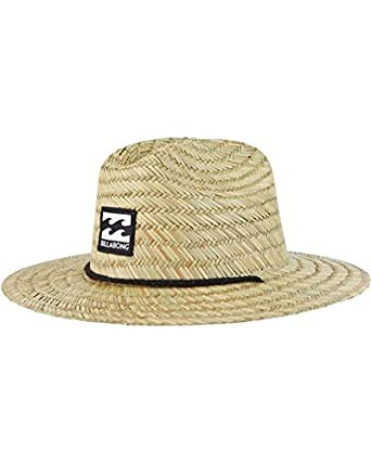 Amazoncom Billabong Boys Tides Straw Hat Natural One Size Clothing