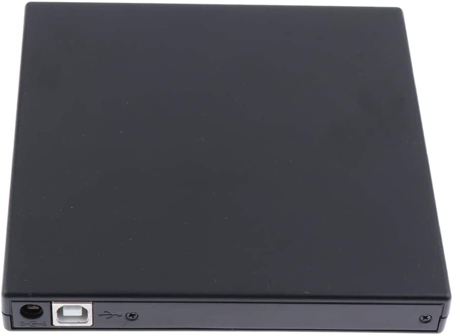 7 Laptop Black Portable CD Optical Drive Burner Writer for Windows 10//8 Gazechimp External Drive USB2.0
