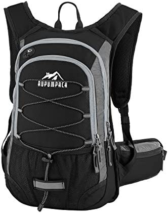 RUPUMPACK Insulated Hydration Backpack Pack with BPA Free 2L Water Bladder – Keeps Liquid Cool Up to 4 Hours, Fit Outdoor Gear for Hiking, Running, Cycling, Camping, Skiing, 15L