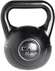 CAP Barbell Fitness Kettlebell (Black)