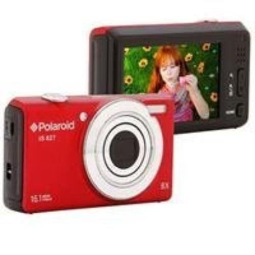 Polaroid IS827-Red-Box-FHUT 16 Digital Camera with 3-Inch LCD (Red) Sakar