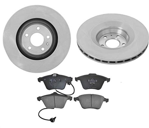 (Fits Audi 06-11 A6 A6 Quattro With 347MM 13 5/8 Inch Front Disc Brake Rotor &)