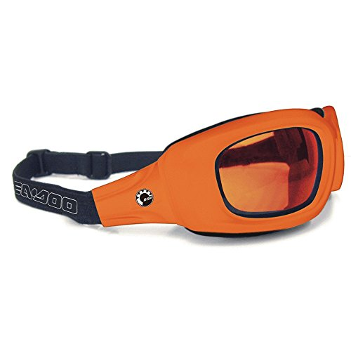 New Genuine OEM BRP Sea-Doo PWC Boat Riding Goggles-Orange by Sea-Doo
