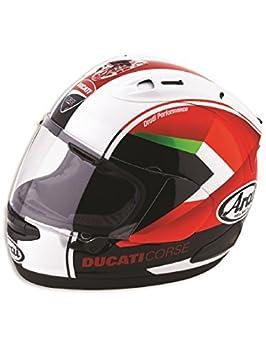 Ducati Corse rojo flecha casco