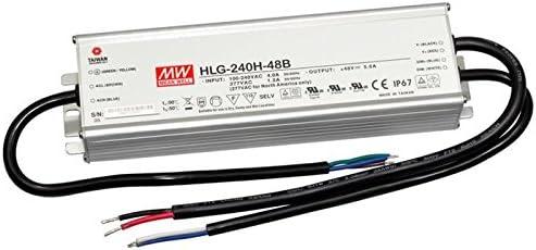 LED Fuente de alimentación 240W 24V 10A ; MeanWell HLG-240H-24B ; atenuación