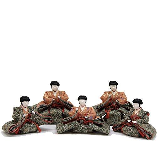 雛人形 アウトレット品 五人囃子単品 七寸 幅108cm 18ya1046   B074YXY9V4