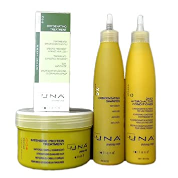 Amazon.com : UNA Combination Set II for Hair Loss : Hair Regrowth Treatments : Beauty