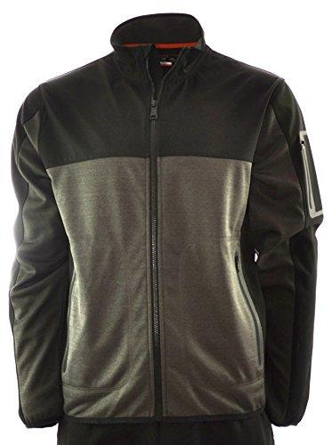 Hawke & Co. Men's Modern Explorer Moisture Wicking Pro-Fusion Jacket (Large, Slate - The Explorer Modern