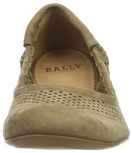 Peakes Ballerina 37 EU Bally Oliva C5w6qf1T1