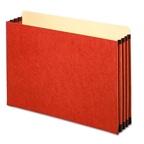 Globe Weis Legal File Cabinet - Pendaflex FC1526P File Cabinet Pockets, Straight Cut, 1 Pocket, Legal, Redrope (Box of 10)