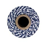 Bakers Twine - 240 Yards (Blue & White)