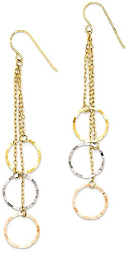Yellow Gold Chandelier Dangle - 5